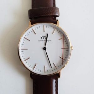 Daniel Wellington Classic Rose Gold Watch - Brown